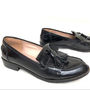 Steve Madden leather penny loafers
